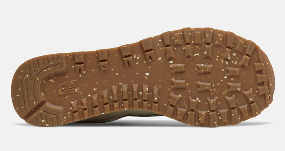 The outsole of the New Balance 574. - Credit: Courtesy of New Balance