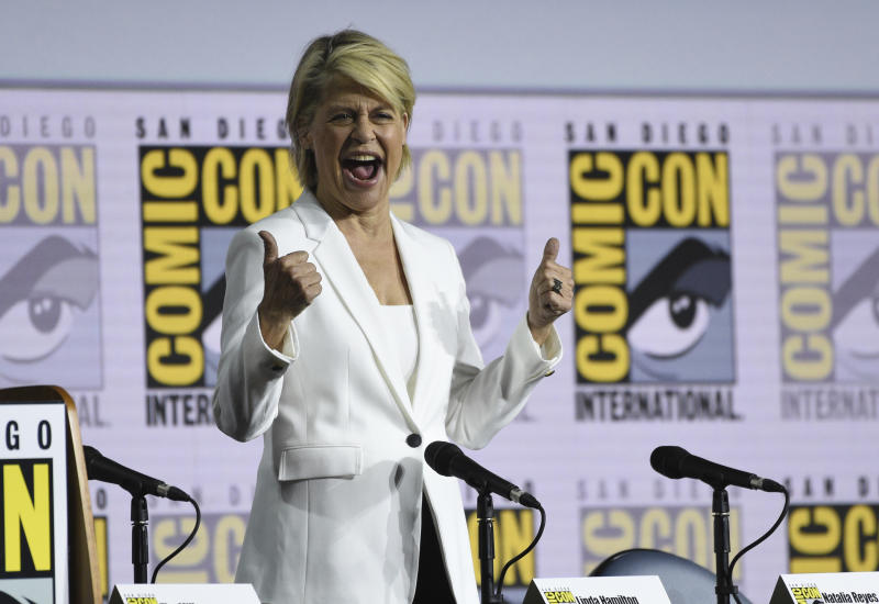 "2019 Comic-Con - ""Terminator: Dark Fate"" Panel"