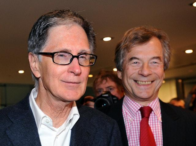 Former chairman Martin Broughton (right) admits he made a judgement call on FSG principal owner John W Henry