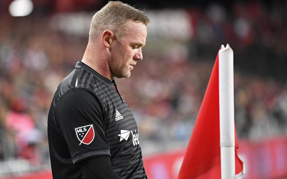 Wayne Rooney is powerless to prevent DC United from crashing out of the MLS play-offs - USA TODAY Sports