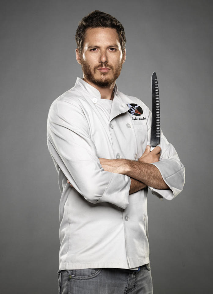 """Chef Spike Mendelsohn is competing on the new season of """"The Next Iron Chef,"""" premiering Sunday, 11/4 at 9 PM on Food Network."""