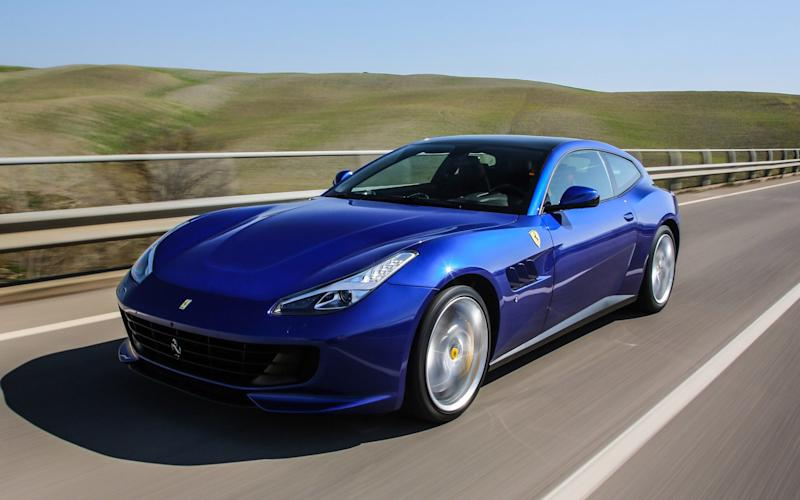 The GTC4Lusso T in its natural habitat - fast cruising in luxury and comfort - www.lorenzomarcinno.it