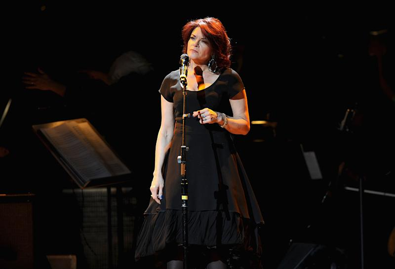 Rosanne Cash performs during on April 3, 2012 in New York City