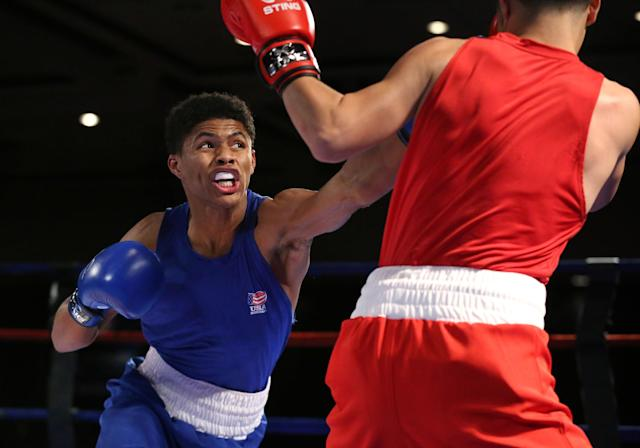 Shakur Stevenson is a medal threat for the U.S. at Rio. (AP)