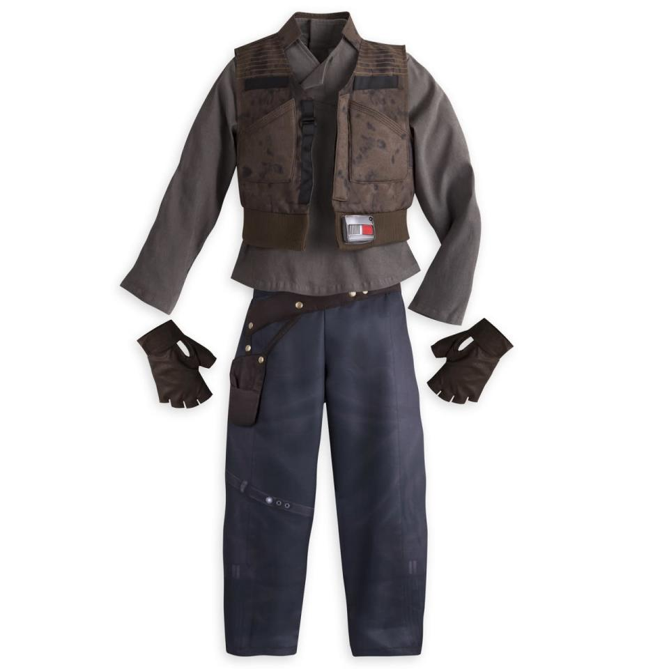 <p>Kids can channel their inner rogue with this costume modeled after the outfit worn by Felicity Jones in the film. Available for preorder Sept. 2. <i>($44.95)</i></p>