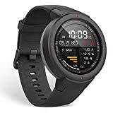 Amazfit Verge Alexa Built-in Smartwatch by Huami with GPS+ GLONASS All-Day Heart Rate and Activity Tracking, Sleep Monitoring, 5-Day Battery Life, Bluetooth, IPX68 Waterproof - A1811 (Gray)