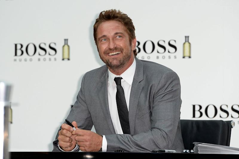 Kiss and tell: Gerard Butler has revealed who he preferred smooching on-screen with: Andrew Matthews/PA Archive/PA Images