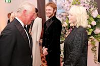 <p>Prince Charles also had a moment with the singer. </p>