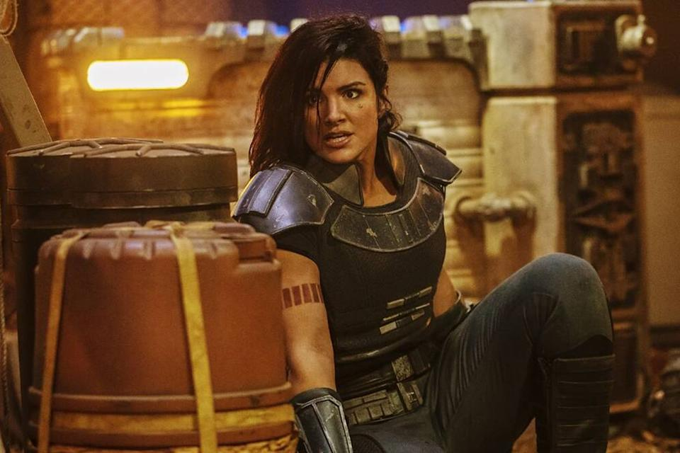Gina Carano in The Mandalorian (Credit: Disney)