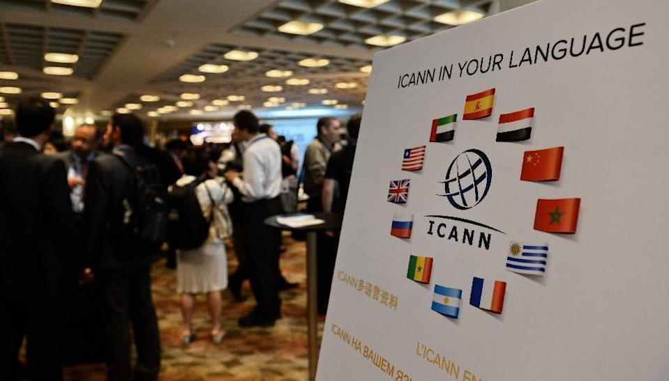 ICANN became independent on October 1, 2016 after the expiration of an 18-year contract to manage the technical functions of the internet address system which ensure that users arrive at certain websites (AFP Photo/ROSLAN RAHMAN)