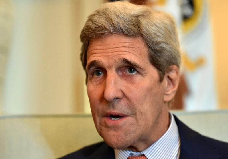 US Secretary of State John Kerry spent 18 days in Vienna negotiating the final phase of the nuclear deal with his Iranian counterpart (AFP Photo/Mladen Antonov)
