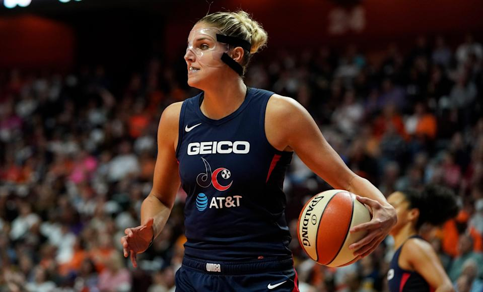 Elena Delle Donne has played in the WNBA since 2013 when she was named Rookie of the Year. She has taken the 2020 and 2021 seasons off for personal reasons after winning the 2019 WNBA Championship with the Washington Mystics.