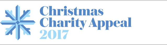 Christmas Charity Appeal banner 2017