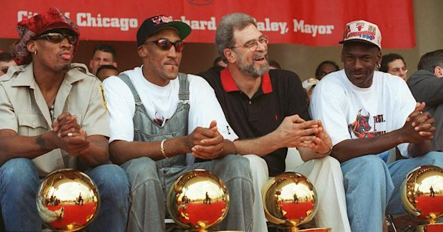 Michael Jordan's second tour with the Bulls was somehow stronger than his first. (AP Photo/ Beth A. Keiser)