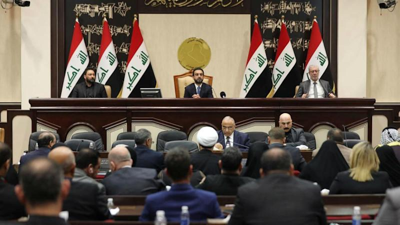 Iraq parliament passes resolution to expel US-led coalition troops from country