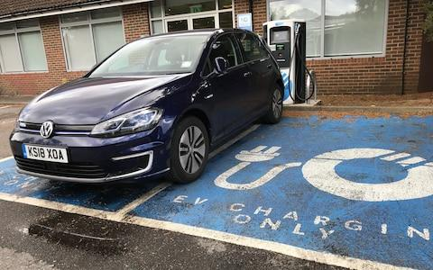 VW e-Golf - Polar rapid charger
