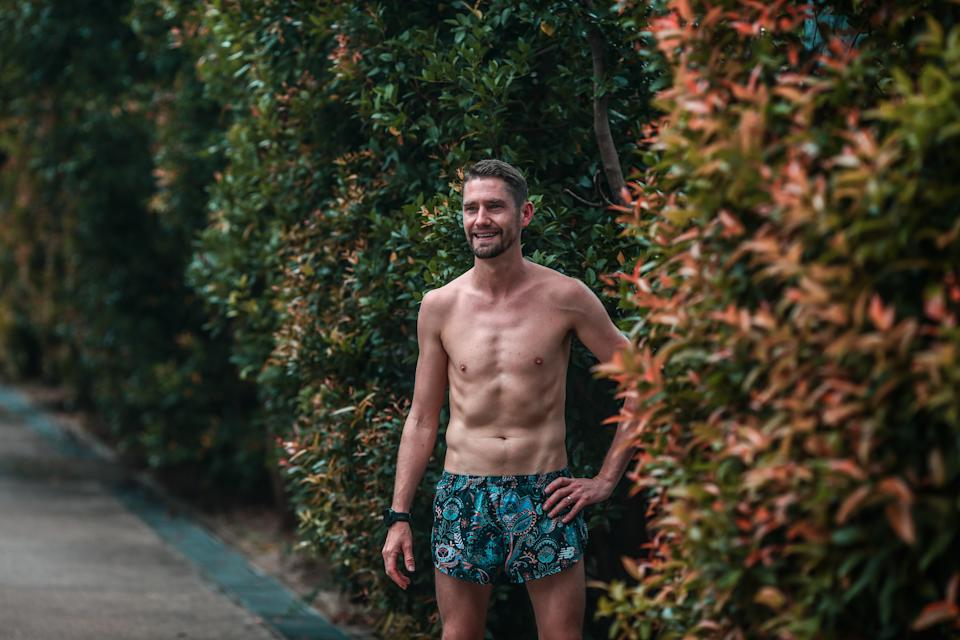 """Tom plans to do the """"The Real Round The Island"""" run, which is 166km around Singapore in a single attempt."""
