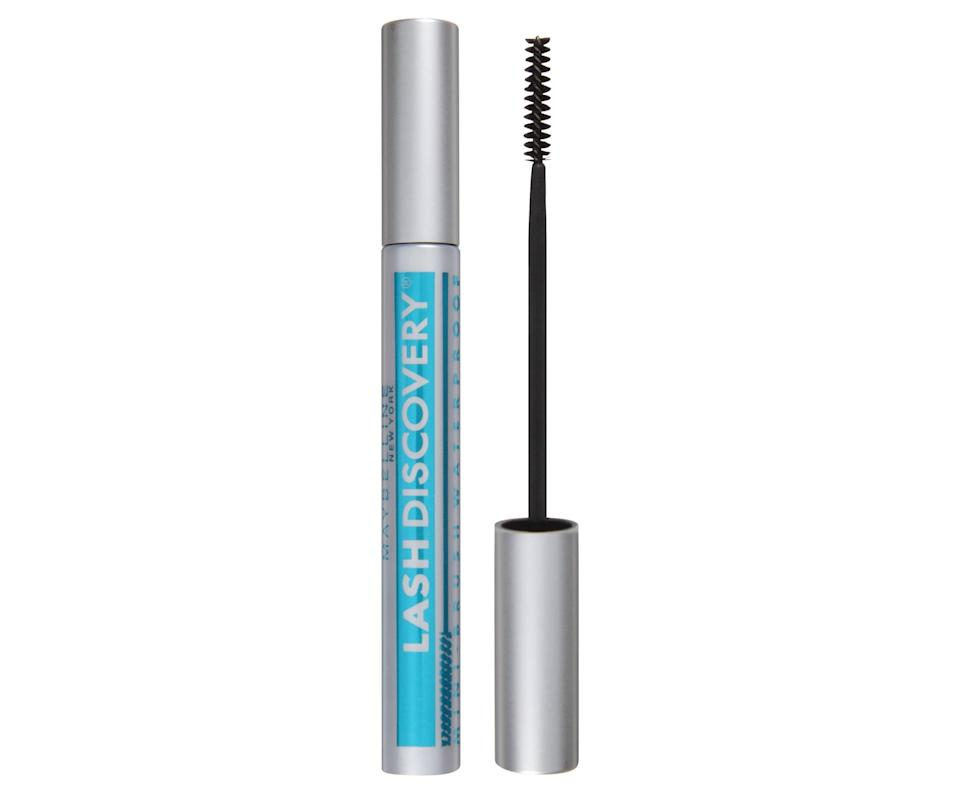 <p>This <span>Maybelline Lash Discovery Mascara </span> ($7) has a tiny brush that can make sure you have every lash covered. </p>