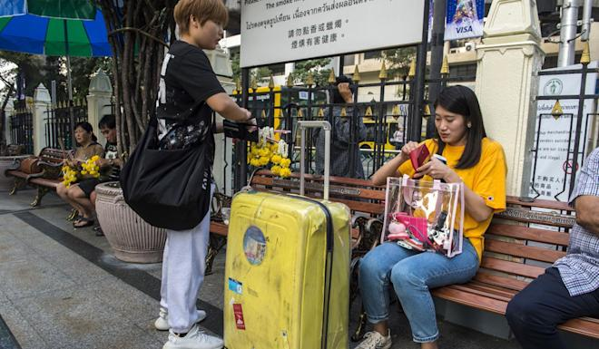China is the biggest source of tourists for Thailand, accounting for more than a quarter of the total number of visitors. Photo: AFP