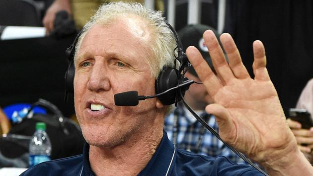 <p>Bill Walton brings the crazy, as usual, to ESPN telecast</p>