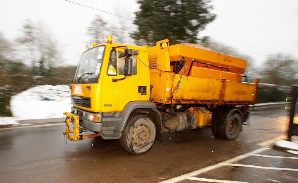 Roads could be left covered in dangerous snow and ice this winter due to a shortage of gritter drivers (Chris Ison/PA) (PA Archive)