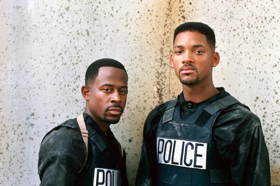 "<p>This buddy cop action film about two fast-talking Miami detectives (Martin Lawrence, Will Smith) remains so popular that a third sequel, <em>Bad Boys for Life</em>, hit theaters as recently as January 2020 and <a href=""https://variety.com/2020/film/news/box-office-bad-boys-for-life-global-100-million-1203472358/"" rel=""nofollow noopener"" target=""_blank"" data-ylk=""slk:still made $100 million"" class=""link rapid-noclick-resp"">still made $100 million</a> at the box office its opening weekend.</p> <p><em>Available to buy on</em> <a href=""https://www.amazon.com/Bad-Boys-Will-Smith/dp/B000I8JEY2"" rel=""nofollow noopener"" target=""_blank"" data-ylk=""slk:Amazon Prime Video"" class=""link rapid-noclick-resp""><em>Amazon Prime Video</em></a><em>.</em></p>"
