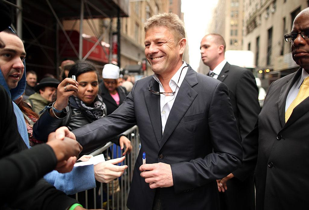 "Sean Bean (""Legends"") attends the 2013 TNT/TBS Upfront at Hammerstein Ballroom on May 15, 2013 in New York City."