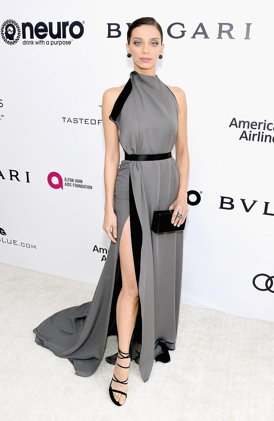 <p>Angela Sarafyan attends the 25th Annual Elton John AIDS Foundation's Academy Awards Viewing Party with cocktails by Clase Azul Tequila and Chopin Vodka at The City of West Hollywood Park on February 26, 2017 in West Hollywood, California. (Photo by Jamie McCarthy/Getty Images for EJAF) </p>