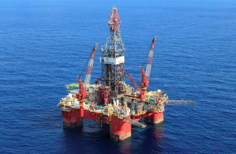 FILE PHOTO: A general view of the Centenario deep-water oil platform in the Gulf of Mexico off the coast of Veracruz
