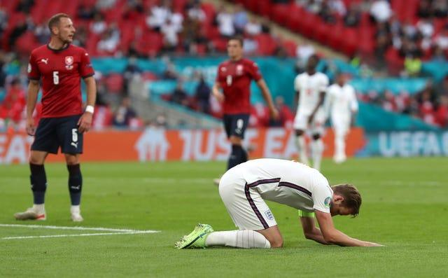 England have been frustrated in front of goal at Euro 2020