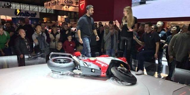 <p>The four-cylinder, 226-horsepower Ducati Panigale V4 Speciale is the new flagship superbike from the Italian motorcycle maker. </p>