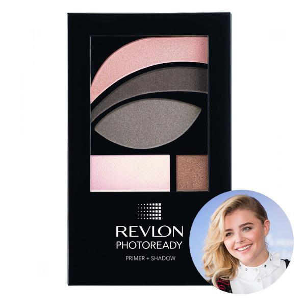 <p>Chloe Grace Moretz's go-to smokey eye palette is this pink, wine and shimmery metallic combo by Revlon.</p>
