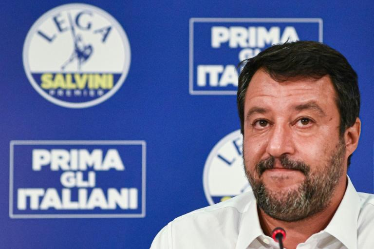 Defiant Salvini readies for migrant trial as allies rally