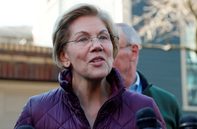 Elizabeth Warren to host private fundraiser for Biden - NY Times