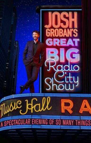 PHOTO: Josh Groban announced his new performance, 'Josh Groban's Great Big Radio City Show,' in New York. (Matt Ross Public Relations)