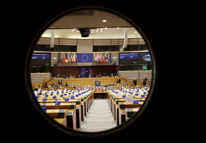 Debate on future relations between Britain and the EU in Brussels