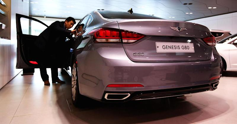 Hyundai luxury brand Genesis ranked No. 1 by Consumer Reports
