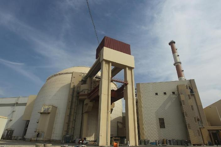 The reactor building at the Russian-built Bushehr nuclear power plant in southern Iran (AFP Photo/Majid Asgaripour)