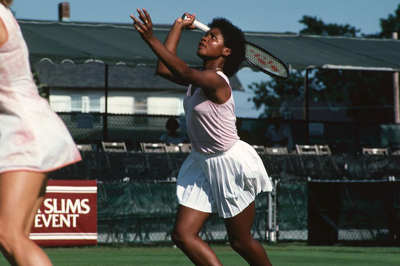 "Legendary tennis star McNeil became an All-American in singles and doubles at Oklahoma State University before turning pro in 1984, according to the <a href=""https://itahalloffame.org/inductees/lori-mcneil/"">Women's Collegiate Tennis Hall of Fame</a>.  She most famously beat the now-retired <a href=""https://www.tennisfame.com/hall-of-famers/inductees/chris-evert"">International Tennis Hall of Famer Chris Evert</a> in the Pan Pacific Open in Tokyo on this day in history, 31 years ago, blocking Evert's chances of winning the 1987 U.S. Open, the <a href=""https://www.latimes.com/archives/la-xpm-1989-02-03-mn-2203-story.html""><em>L.A. Times</em></a> reported at the time.  McNeil's legendary career highlights include NCAA Big Eight Athletic Conference Singles Champion (1982), U.S. Indoor Doubles Champion (1986), Texas Tennis Hall of Fame inductee (2000) and U.S. Women's Tennis Coach at the World University Games (2005).  She's won 32 career doubles titles and was appointed assistant coach to the U.S. Olympic Team in 2004, and continues to serve as a mentor for young players."