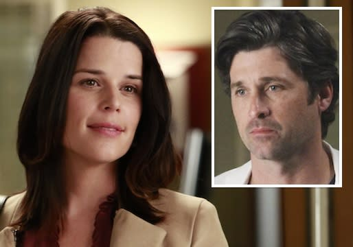 Grey's Anatomy Scoop: Neve Campbell Spills Some Secrets About Derek's Mystery Sis