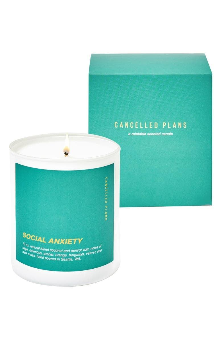 <p><span>Cancelled Plans Social Anxiety Candle</span> ($25, originally $32)</p>