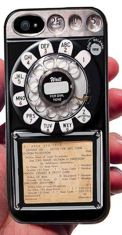 """<a href=""""https://www.etsy.com/ca/listing/223675837/old-payphone-iphone-case-phone-old-pay"""" target=""""_blank"""">Old payphone iPhone case, Etsy, $15.76</a>"""