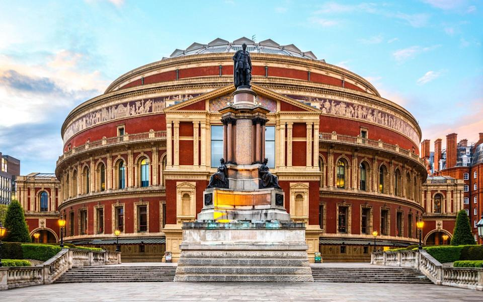 The Royal Albert Hall has lost the majority of its income along with other venues