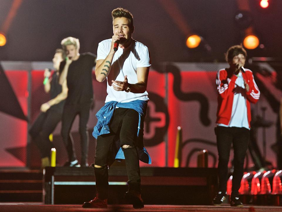 One Direction performing in August 2015.