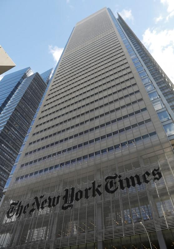 NYT warns of 'challenging' quarter as ad revenue set to weaken, shares fall