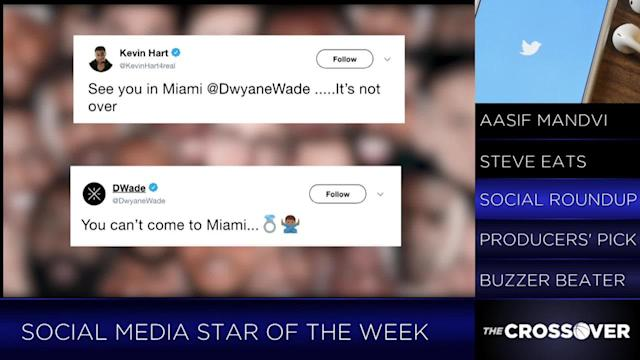 Rohan Nadkarni breaks down Dwyane Wade's wild week on social media and why he is deserving of Crossover TV's inaugural Social Media Award. For more CrossoverTV, subscribe to SITV.