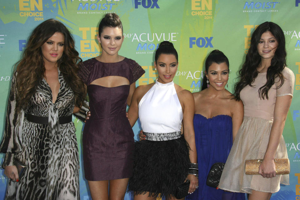 "SEPTEMBER 8th 2020: ""Keeping Up With The Kardashians"" will be coming to an end with the final season airing in early 2021. The popular reality television show aired for 20 seasons over 14 years on E! Entertainment Television. - File Photo by: zz/KGC-136/STAR MAX/IPx 2011 8/7/11 Khloe Kardashian, Kendall Jenner, Kim Kardashian, Kourtney Kardashian and Kylie Jenner at the Teen Choice Awards. (Universal City, CA)"