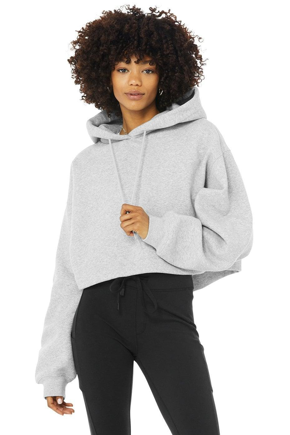 <p>We're obsessed with this cropped <span>Alo Bae Hoodie</span> ($88). It's the perfect option to take you from the studio to the street.</p>