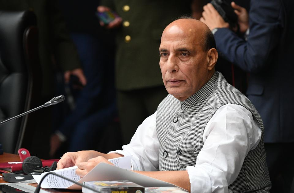 Border dispute created as if it was under a mission: Rajnath on eastern Ladakh standoff