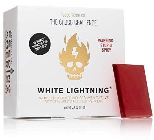 """<p><strong>FUEGO SPICE CO.</strong></p><p>amazon.com</p><p><strong>$24.95</strong></p><p><a href=""""https://www.amazon.com/dp/B087L8WJXS?tag=syn-yahoo-20&ascsubtag=%5Bartid%7C1782.g.994%5Bsrc%7Cyahoo-us"""" rel=""""nofollow noopener"""" target=""""_blank"""" data-ylk=""""slk:BUY NOW"""" class=""""link rapid-noclick-resp"""">BUY NOW</a></p><p>The one chip challenge...but make it chocolate. </p>"""